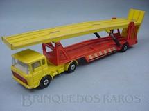1. Brinquedos antigos - Matchbox - Caminhão Cegonha DAF Car Transporter Super Kings