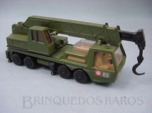 Brinquedos Antigos - Matchbox - Military Crane Truck Battle Kings