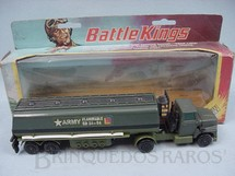 1. Brinquedos antigos - Matchbox - Army Petrol Tanker Battle Kings