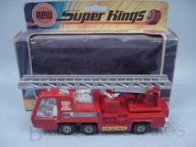 1. Brinquedos antigos - Matchbox - Fire Tender Super Kings