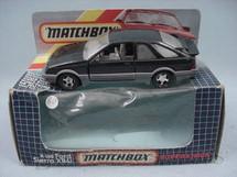 1. Brinquedos antigos - Matchbox - Ford Sierra XR4i Super Kings