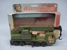 1. Brinquedos antigos - Matchbox - Military Crane Truck Battle Kings