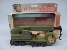 1. Brinquedos antigos - Matchbox - Military Crane Truck Battle Kings