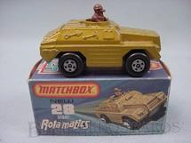 1. Brinquedos antigos - Matchbox - Stoat Rola-Matics amarelo metálico