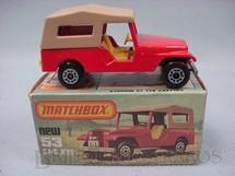 Brinquedos Antigos - Matchbox - CJ6 Jeep Willys Superfast