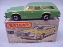 1. Brinquedos antigos - Matchbox - Mercury Cougar Villager Superfast verde metálico
