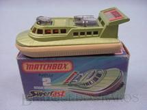1. Brinquedos antigos - Matchbox - Rescue Hovercraft Superfast
