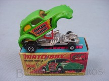 1. Brinquedos antigos - Matchbox - Volkswagen Dragon Wheels Superfast verde