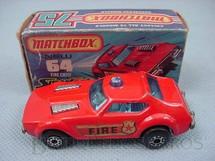1. Brinquedos antigos - Matchbox - Fire Chief Superfast