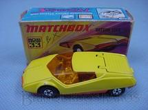 1. Brinquedos antigos - Matchbox - Datsun 126 X Superfast amarelo