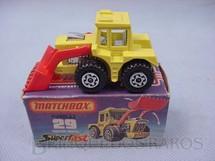 Brinquedos Antigos - Matchbox - Tractor Shovel Superfast motor cromado