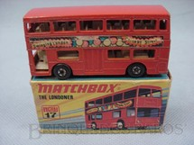 1. Brinquedos antigos - Matchbox - The Londoner Superfast Swinging London