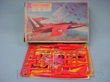 1. Brinquedos antigos - Matchbox - Avião Gnat MK1 Trainer