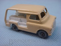 1. Brinquedos antigos - Matchbox - Bedford Milk Delivery Van Metal Regular Wheels