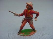 1. Brinquedos antigos - Cherilea Toys - Cowboy de pé com revolver