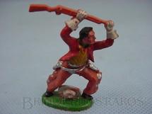 1. Brinquedos antigos - Cherilea Toys - Cowboy de pé lutando com rifle