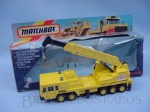1. Brinquedos antigos - Matchbox - Guindaste Mobile Crane Super Kings