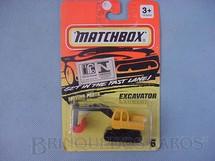 1. Brinquedos antigos - Matchbox - Excavator Superfast