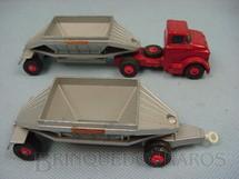 1. Brinquedos antigos - Matchbox - GMC Tractor and Freuhof Hopper Train King Size