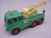 1. Brinquedos antigos - Matchbox - Caminhão Guincho Heavy Breakdown Werek Truck King Size