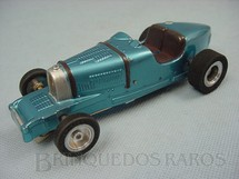 1. Brinquedos antigos - Pactra Competition - Bugatti com chassi de latão tubular e carroceria de Vacuum Formed 100% original Década de 1960