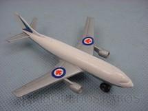 1. Brinquedos antigos - Matchbox - A300 Airbus Sky Busters Canadair label