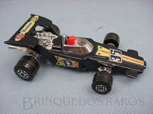 1. Brinquedos antigos - Matchbox - Inbrima - Lightning Fórmula 1 Speed Kings preto Brazilian Matchbox Inbrima 1970