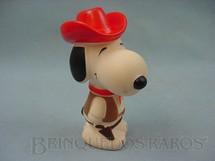 1. Brinquedos antigos - Estrela - Snoopy Xerife com 15,00 cm de altura Ano 1976