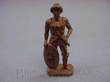 1. Brinquedos antigos - Sem identificação - Guerreiro Huno 4, Kinder Ovo