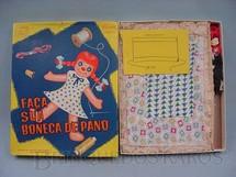 1. Brinquedos antigos - Coluna - Faça sua Boneca de Pano completo Década de 1960