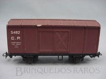 1. Brinquedos antigos - Atma - Vagão Furgão de dois eixos Compania Paulista Década de 1960