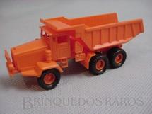 1. Brinquedos antigos - Umex - Caminhão Basculante EUCLID, com 11,00 cm de comprimento. Década de 1960