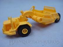 1. Brinquedos antigos - Umex - Motor Scraper Caterpillar com 14,00 cm de comprimento Década de 1960