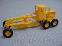 1. Brinquedos antigos - Umex - Motoniveladora Caterpillar com cabine 10,00 cm de comprimento Década de 1960
