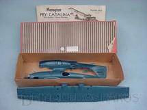 1. Brinquedos antigos - Monogram - Avião PBY Catalina importado e embalado pela Mobral na década de 1970 Falta a folha de decais