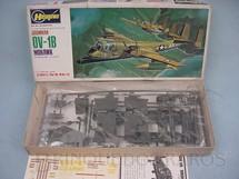 1. Brinquedos antigos - Hasegawa - Avião Grumman OV-1B Mohawk
