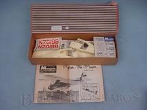 1. Brinquedos antigos - Monogram - Avião Piper Tri-Pacer importado e embalado pela Mobral na década de 1970