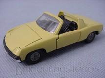 1. Brinquedos antigos - Dinky Toys - Volkswagen Porsche 914 amarelo