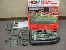1. Brinquedos antigos - Estrela - Comandos em Ação Hovercraft Guarda Costeira completo com motocicleta e jet sky