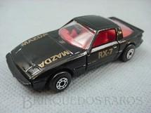 1. Brinquedos antigos - Matchbox - Inbrima - Mazda RX 7 Superfast preto Brazilian Matchbox Inbrima 1970