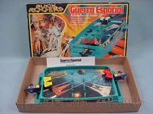 1. Brinquedos antigos - Glasslite - Jogo Guerra Espacial Buck Rogers a batalha do século 25 Década de 1980