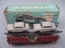 1. Brinquedos antigos - Marklin - Vagão transporte de Carros linha DB Década de 1960