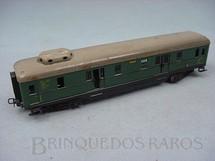 1. Brinquedos antigos - Marklin - Vagão de Bagagens com 4 eixos verde Década de 1950