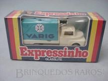1. Brinquedos antigos - Glasslite - Expressinho Glasslite Varig Embalagem lacrada