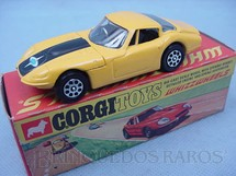 1. Brinquedos antigos - Corgi Toys - Marcos 3 Litre Whizzwheels amarelo