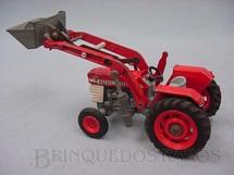 1. Brinquedos antigos - Corgi Toys - Trator Massey Ferguson Tractor with Shovel