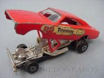1. Brinquedos antigos - Matchbox - Roly Toys - Dodge Dragster Superfast vermelho Brazilian Matchbox Roly Toys 1970