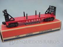 1. Brinquedos antigos - Lionel - Vagão 6467 Bulkhead Car Ano 1956