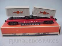 1. Brinquedos antigos - Lionel - Vagão 6430 Trailer Flat Car Ano 1955 a 1958