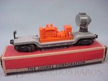1. Brinquedos antigos - Lionel - Vagão Holofote 3620 Rotating Searchlight Car Ano 1954